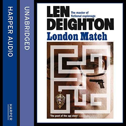 London Match                   By:                                                                                                                                 Len Deighton                               Narrated by:                                                                                                                                 James Lailey                      Length: 14 hrs and 45 mins     170 ratings     Overall 4.7