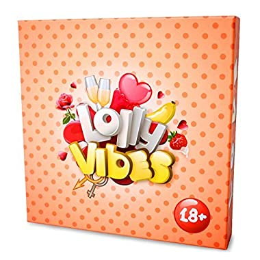 Lolly Vibes: The Ultimate Couples Card Game For Married & Unmarried Couple – Funny Relationship Board Game With Questions, Tasks & Challenges – Endless Fun With Your Significant Other