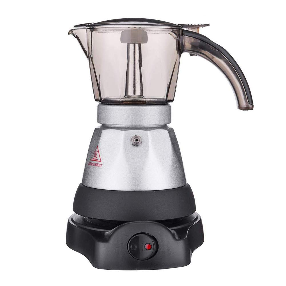 SYSWJ Cafetera 150-200Ml Coffee Machine Automatic Portable Electric Coffee Maker Stainless Steel Coffee Pot Home Kitchen Tools,A: Amazon.es: Hogar