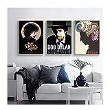 AZTeam Rocksänger Bob Dylan Poster Und Drucke Wandkunst