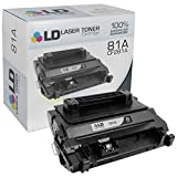 LD Compatible Toner Cartridge Replacement for HP 81A CF281A (Black)