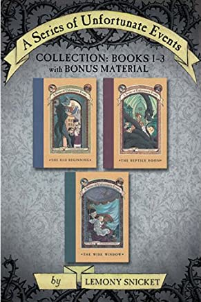 A Series of Unfortunate Events Collection: Books 1-3 with Bonus Material (A Series of Unfortunate Events Boxset Book 1) (English Edition)