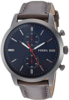 Fossil Mens 44 mm Townsman – fs5378