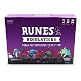 TeeTurtle Runes & Regulations: Nefarious Neighbor Expansion Pack - from The Creators of Unstable Unicorns - Designed to Be Added to Your Runes & Regulations Card Game
