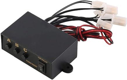 Sostituzione 6 dello stroboscopio modi ha condotto il regolatore della luce di emergenza lampeggiante scatola del regolatore 12V - Trova i prezzi più bassi