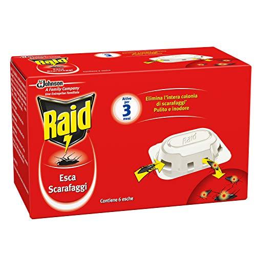 Raid - Esca Scarafaggi - 2 confezioni da 6 esche [12 esche]