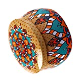 Fenteer Tinplate Boxes Spicy Storage Coffee Canisters with a Lid for Baked Goods - Autumn, 5cm