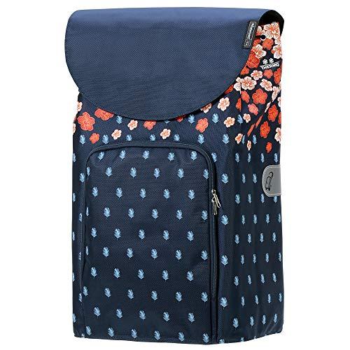 Andersen 41 Liter Shopper Tasche Lily mit Kühlfach orange