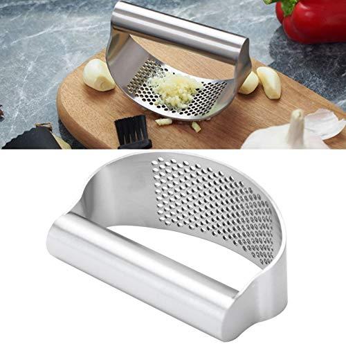 Prensa manual, prensa de ajo, accesorio de cocina para chefs gourmet