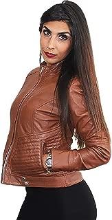 Lusia Women's Genuine Italian Leather Jacket - Sarah
