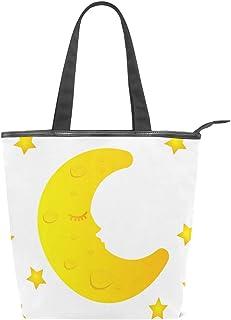 MALPLENA Schultertasche für Damen, süßes Mond
