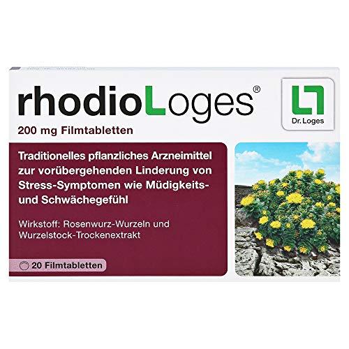 RHODIOLOGES 200 mg Filmtabletten 20 Stück