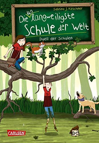 Die unlangweiligste Schule der Welt 5: Duell der Schulen: Kinderbuch ab 8 Jahren über eine lustige Schule mit einem Geheimagenten (5)