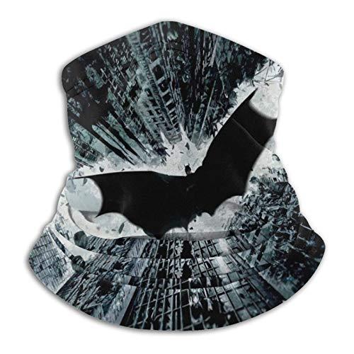 Máscara facial de Batman – bandana para la cabeza, bandana para la cabeza, bufanda para el cuello, gaite lavable, transpirable, a prueba de polvo, máscara para cubrir la barba para hombres y mujeres