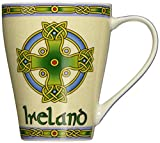 Irish Coffee Mug - Celtic Symbols - Celtic Cross by Royal Tara