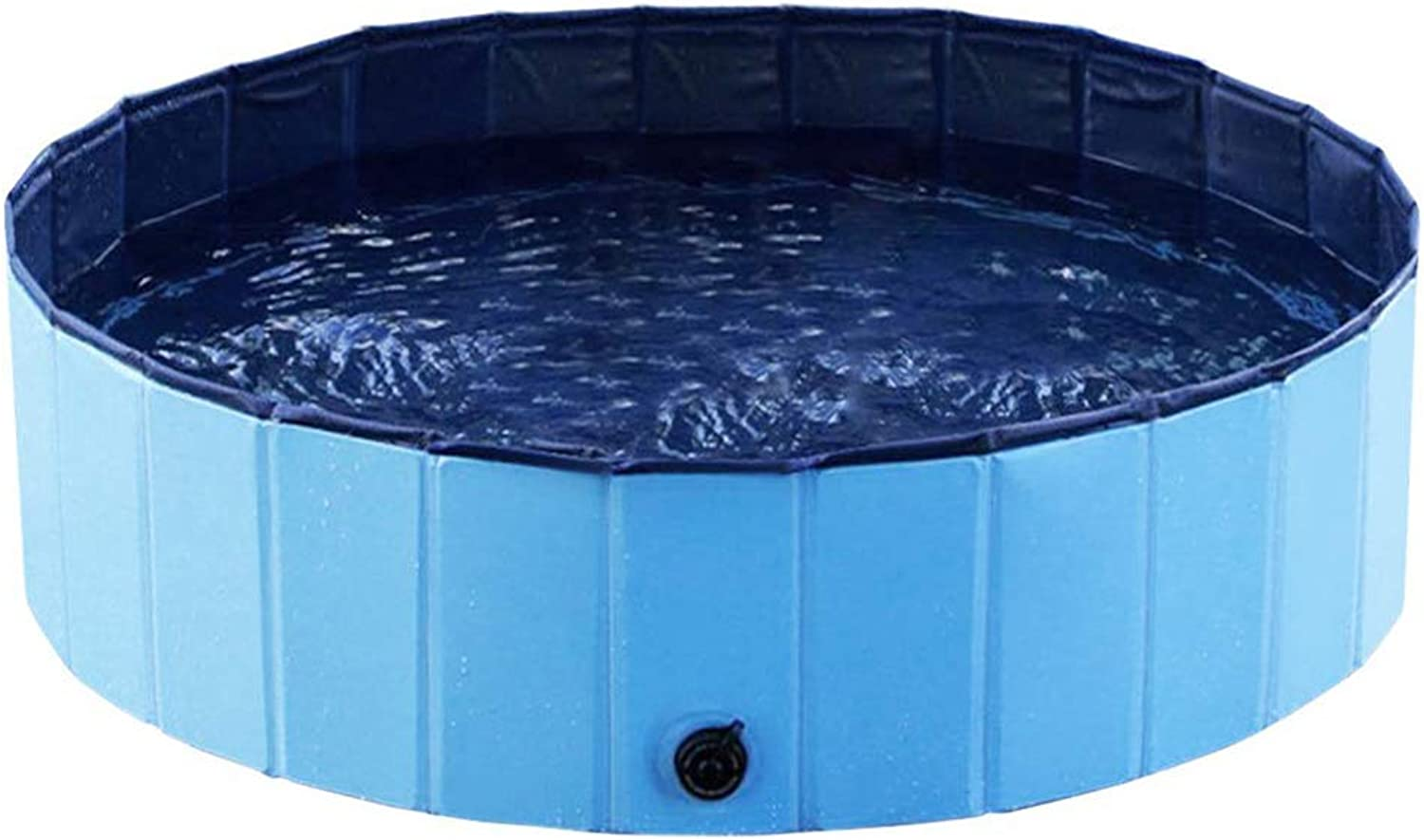 Foldable Dog Bath Pool Portable Pet Bathing Tub Kiddie Pool,bluee,S