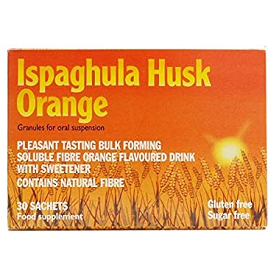 Ispaghula Husk Orange Drink Sachets, Pack of 30