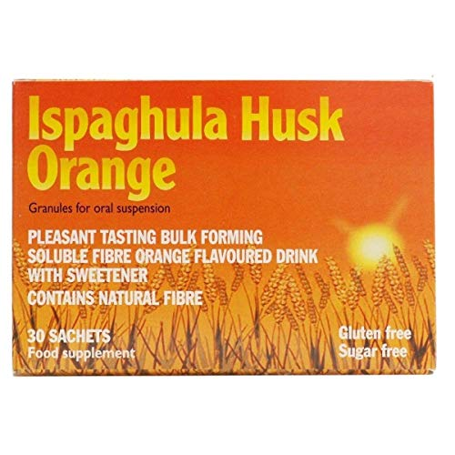 IBS medication over the counter - Ispaghula Husk Orange Drink for constipation