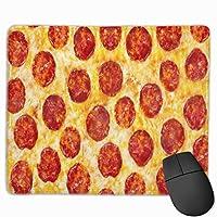 ピザ マウスパッド ノンスリップ 防水 高級感 習慣 パターン印刷 ゲーミング ホビー 事務 おしゃれ 学習