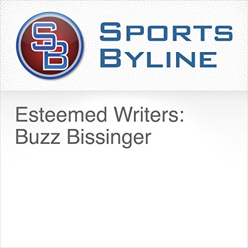 Esteemed Writers: Buzz Bissinger audiobook cover art