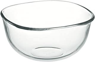 iwaki(イワキ) 耐熱ガラス ボウル 角型 外径14×14cm 700ml KBC331N