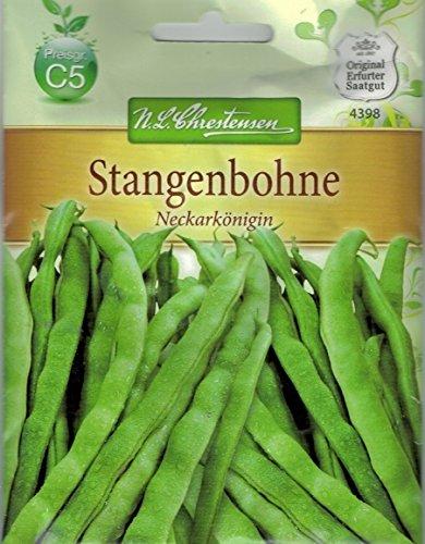Chrestensen Stangenbohne 'Neckarkönigin' Saatgut