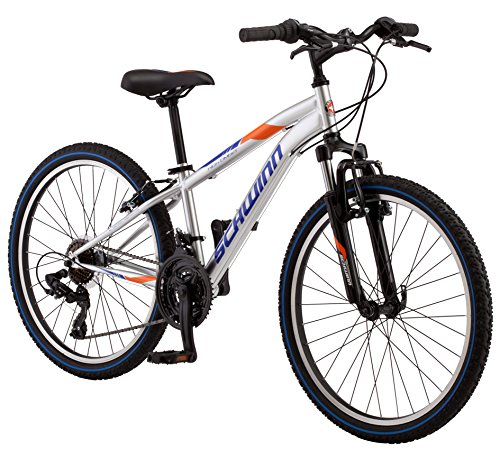 Schwinn High Timber 24' Boy's Silver S2448C