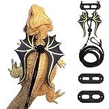 Bearded Dragon Lizard Leash Harness - 3 Size Pack...