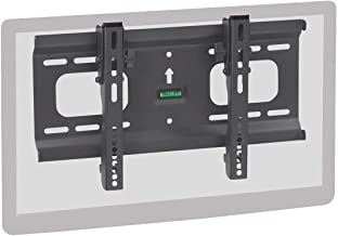 Monoprice Stable Series Ultra-Slim Tilt TV Wall Mount Bracket for TVs 32in to 55in Max Weight 165 lbs VESA Patterns Up to 400x200 UL Certified