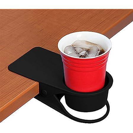 2pcs DIY Home Kitchen Drink Coffee Cup Holder Rack Water Mug Clip Desk Table