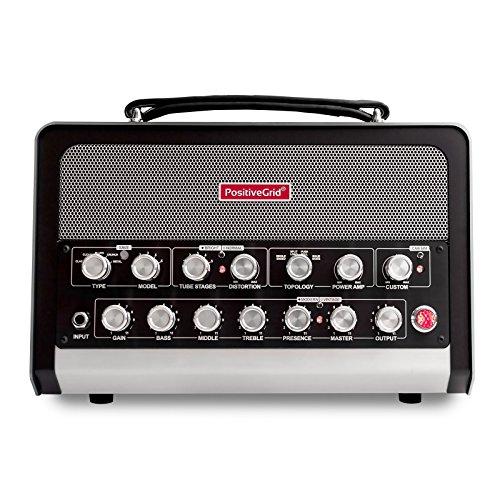 Positive Grid BIAS 600W Guitar and Bass Amplifier Head Black