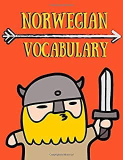 Norwegian vocabulary: composition notebook 120 pages with two columns Perfect for jotting down new words and memorizing them