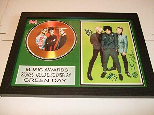 Goldene Schallplatte, Motiv: Green Day