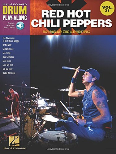 Red hot chili peppers batterie +cd: Drum Play-Along Volume 31