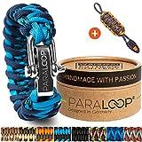 Paraloop Original  Paracorde Bracelet pour Homme + Pendentif avec Sifflet  Tressé à...