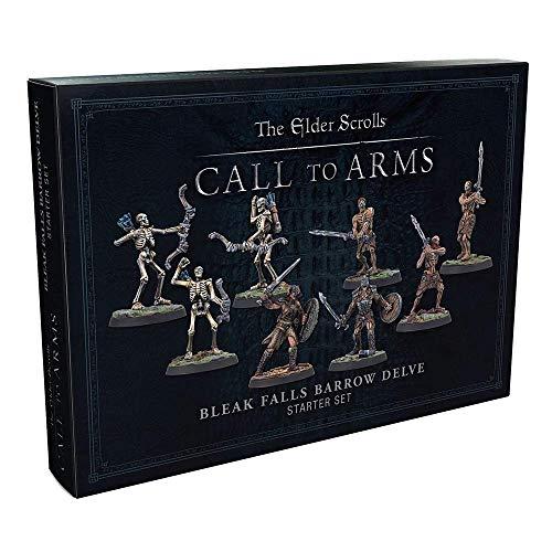 Modiphius Elder Scrolls Call to Arms - Bleak Falls Barrow Delve Set