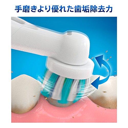 ブラウンオーラルB電動歯ブラシすみずみクリーンEX1モードタイプD12013AE