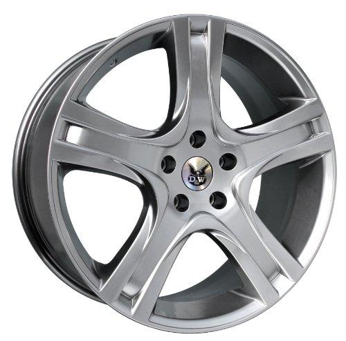 in. pro. FS de 418ch-5120045726 dw48 – Jante 3 D & W D & W California hypersilver 8 x 18 5/120 et45bmw 5 Lim. + 4 x 4/Touring + 4 roues motrices (560 x (E60/61)), 145–200 kW, Bj. 2003–2010