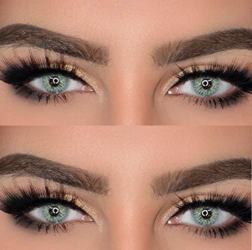 Senses Farbige Kontaktlinsen 3 - Monatslinsen (Quartz /Jasmin Grau)