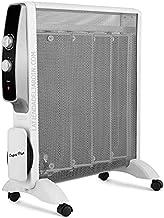 Suinga Radiador elemento calefactor MICA 1500W. 2 potencias de calor: 500W-1500W. Rápida convección y difusión del calor.