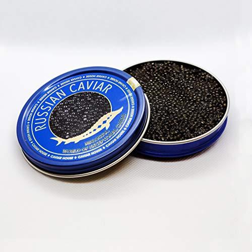 Caviar de Esturion ruso Malosol 100gr.