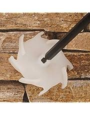Dissolver set - verfroerder, garde, mengmachine (3 stuks Dissoldoppen 75 mm en 1 stuks dissolklem 300 mm van staal)