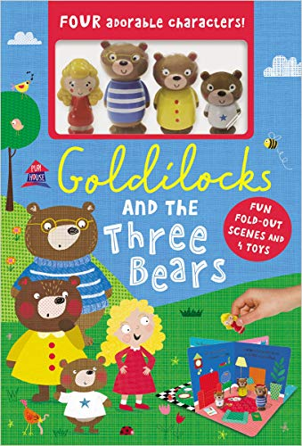 Compare Textbook Prices for Goldilocks and the Three Bears  ISBN 9781789470642 by Make Believe Ideas  Ltd.,Fennell, Clare