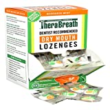 TheraBreath Dentist Recommended Dry Mouth Lozenges, Sugar Free, Mandarin Mint Flavor