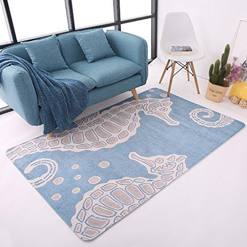 Creative light-carpet Living Room Tapis à Table Basse Canapé-lit Chambre à Coucher Chambre Moderne Home Rectangular Carpets (Taille : 100cm*150cm)