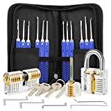 Professional 17 Piece Hook Set with 3 Locks - Blue