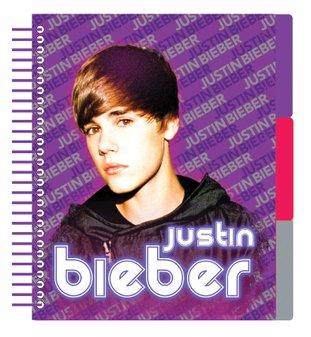 Justin Bieber A5 scheidingswand Notebook