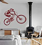 Wall Decal Removable Quote Decor Design Decal Wall BMX Bike Bicycle Sport