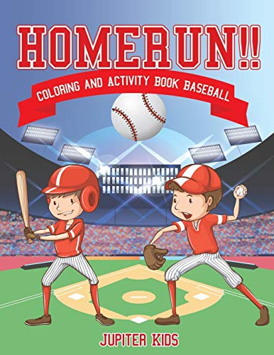 Homerun!! Coloring and Activity Book Baseball