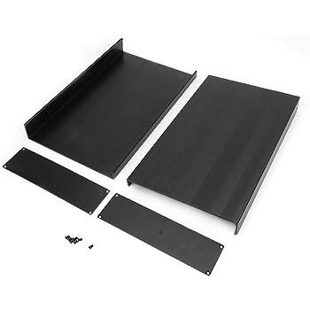 Aluminium Projekt Box DIY Gehäuse für elektronische Gehäuse 200mm x 178
